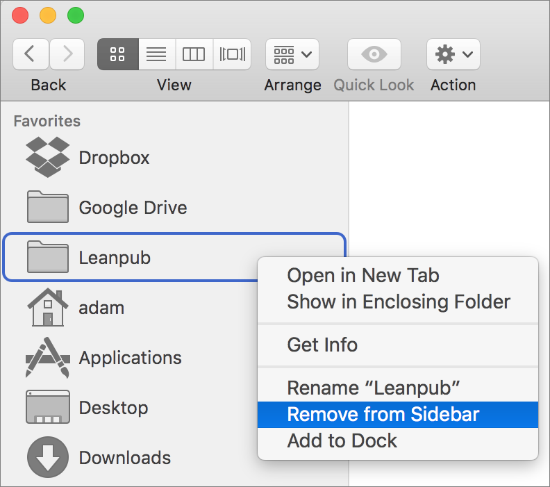 Sidebar-removing-folder