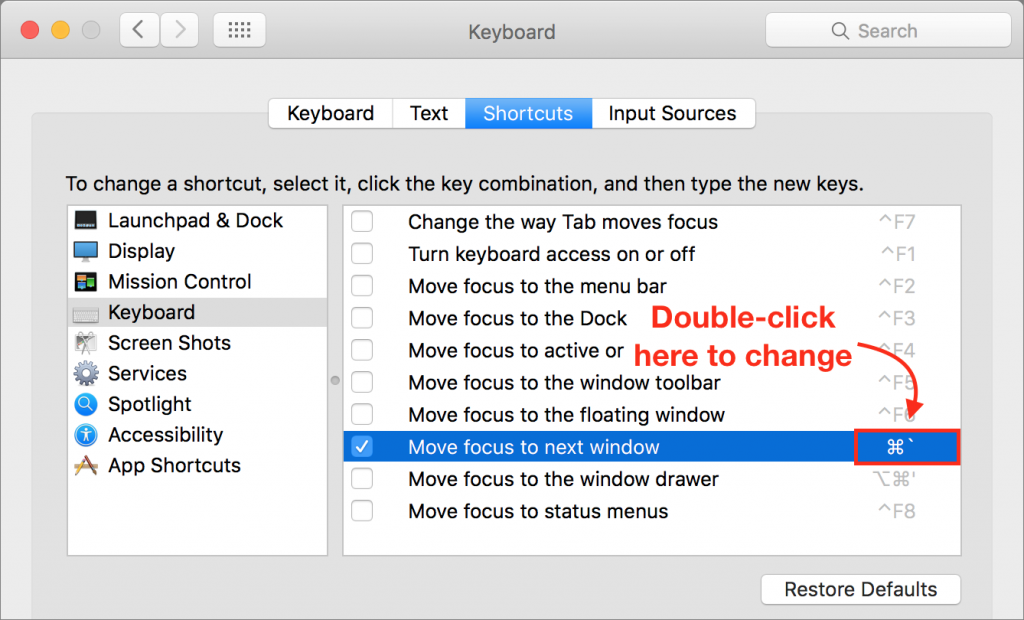 keyboard-cycle-windows-shortcut