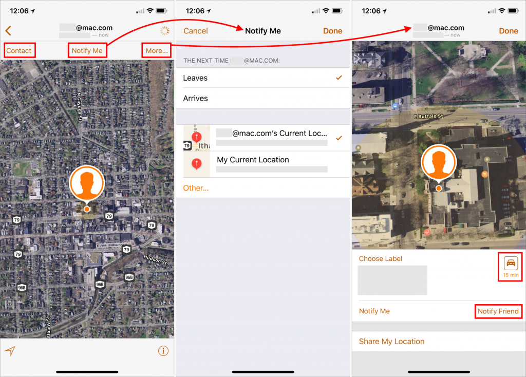 how to use find my friends on mac